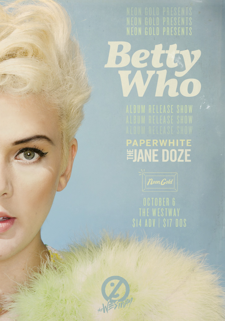 BETTY WHO Album Release Show