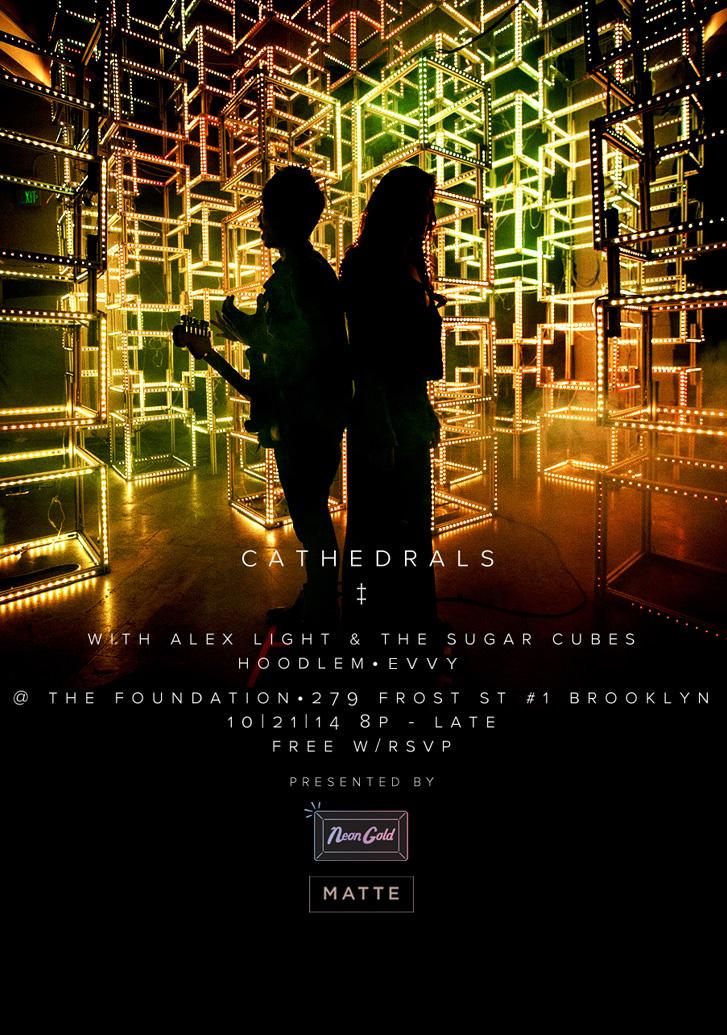 Neon Gold + Matte Present: