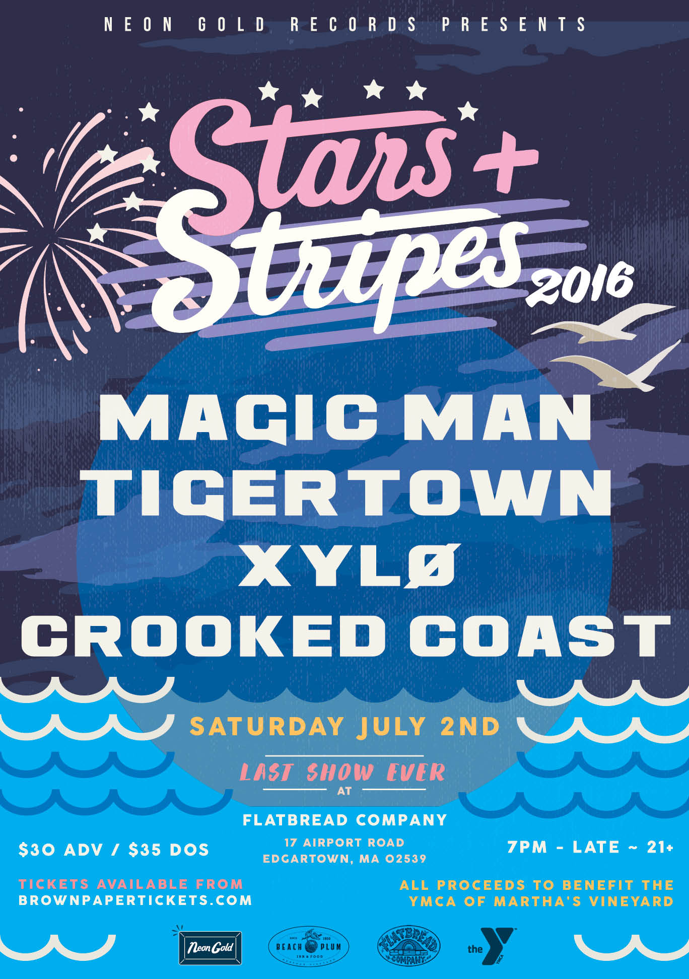 Stars + Stripes 2016