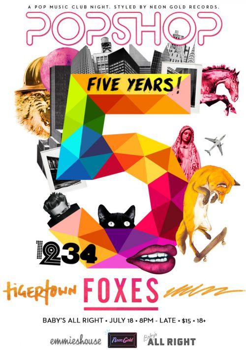 Popshop 5 Year Anniversary
