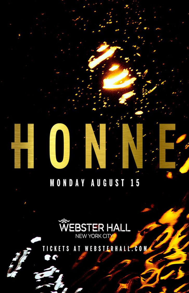 Webster Hall and Neon Gold Present
