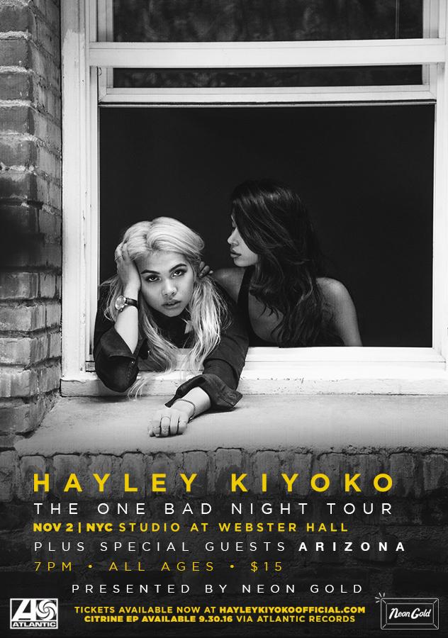 SOLD OUT: Hayley Kiyoko